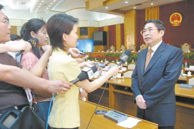 陕西省代省长袁纯清感言:我已是个陕西人(图)