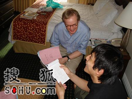 刘烨新片拍摄顺利 回馈张艺谋的导演理解支持