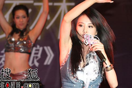 蔡依林北京庆功会 《舞娘》全亚洲销量破百万