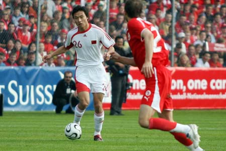 独家图片:中国1-4兵败瑞士 郜林单骑闯关