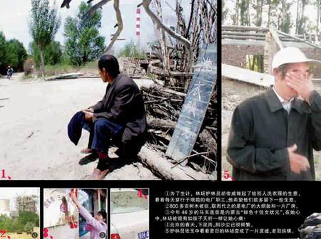 北京沙尘暴源头近千亩林地遭伐 一天毁树60万株