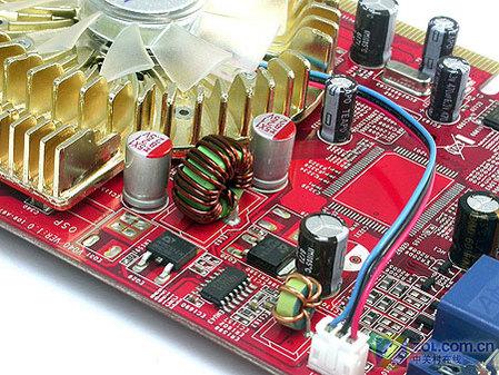 图为:微星RX1600 Pro-TD256E显卡