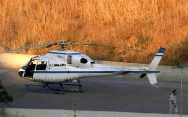 希腊监狱上演惊险一幕 被劫直升机协助罪犯越狱