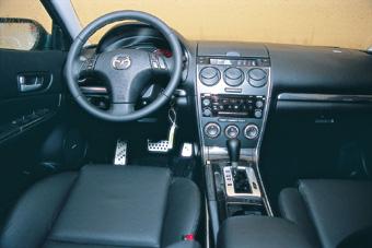 马不停蹄--试驾新Mazda6轿跑车(图)