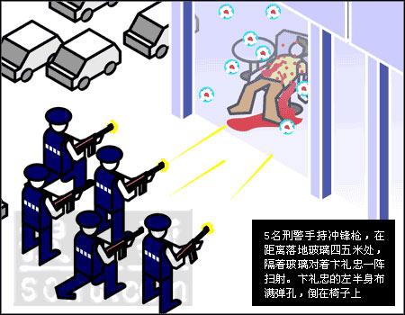 福州警匪勾结杀人案回放 刑警百发子弹谋杀平