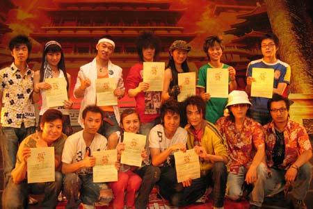 《梦想中国》西安赛区:西安赛区11强选手
