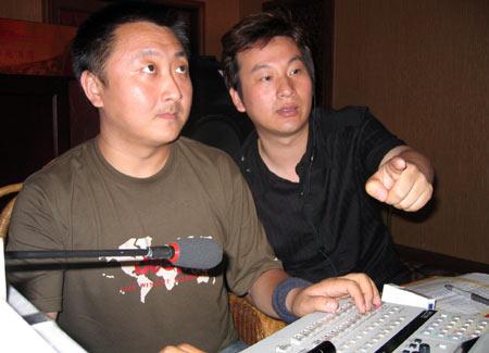 《梦想中国》西安赛区:全心投入的导演们