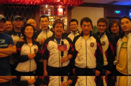 《梦想中国》西安赛区:香港众明星齐祝贺
