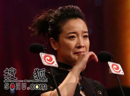 晚会现场:《半路夫妻》陈小艺获得最佳女主角