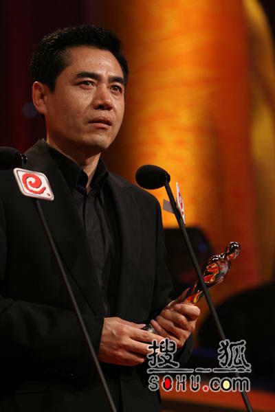 晚会现场:《汉武大帝》陈宝国获最佳男主角
