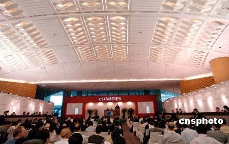 香港拍卖会5天成交12亿 打破多项世界纪录(图)