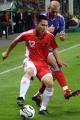 图文:世界杯热身赛法国VS中国 王云防守齐达内