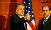 美大使作胜利手势竖拇指