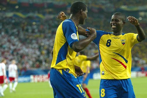 图文:世界杯小组赛:厄瓜多尔2-0击败波兰