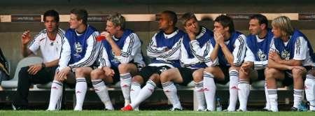 图文:德国4-2哥斯达黎加 德国队替补球员