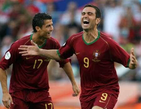 安哥拉VS葡萄牙 保莱塔狂奔庆祝