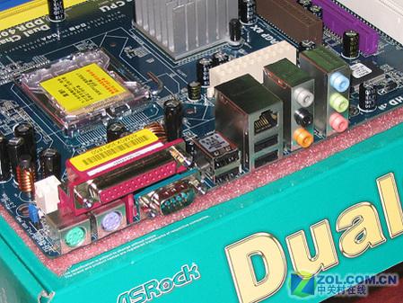 华擎775DUAL-VSTA扩展接口