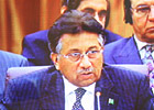 巴基斯坦总统穆沙拉夫在会议上发言