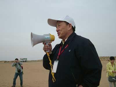 专家结束对巴丹吉林沙漠腹地科学考察活动(图)