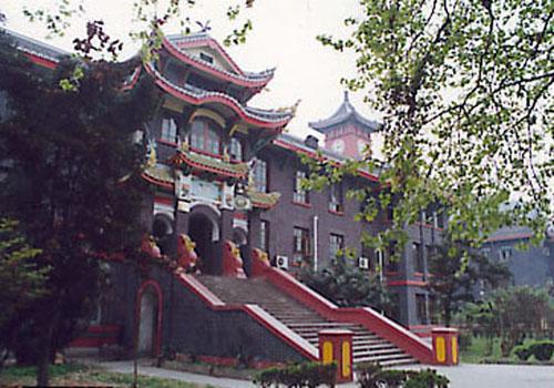 四川大学校园风景欣赏(图)