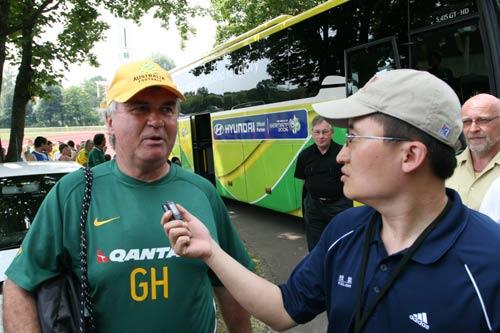 搜狐对话希丁克:战巴西球队要注意减少无谓犯规