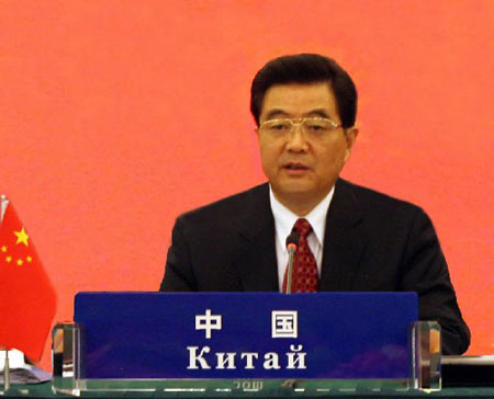 胡锦涛主席关于建设和谐地区建议引起热烈反响