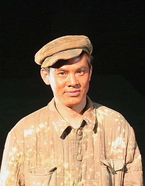 图:话剧《棋盘岭传》演员—张立明