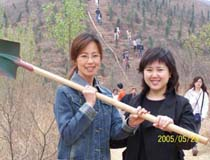 搜狐健康记者俱乐部春游植树活动