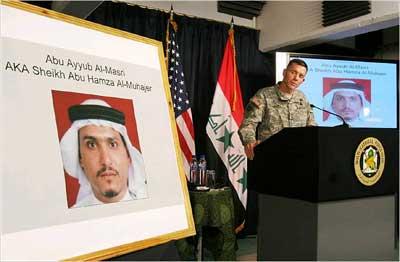 美军公布据信为扎卡维接班人的新头目照片(图)