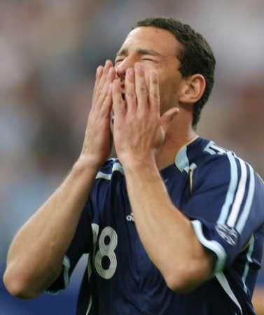 图文:阿根廷VS塞黑 罗德里格斯庆祝进球