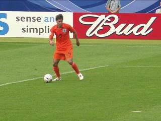 幻灯:荷兰VS科特迪瓦第二个进球 范尼冷静推射