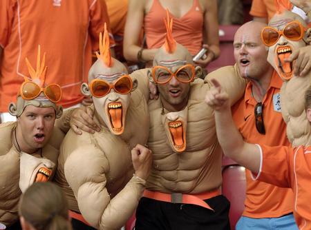 图文:荷兰2-1科特迪瓦 橙色军团全场闪亮
