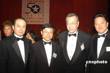 美国亚裔企业家五十杰出炉 二十六华人获奖(图)