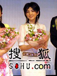 田中丽奈出席中国电影节 用流利中文欢迎来宾