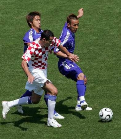图文:日本VS克罗地亚 想过人没那么轻松