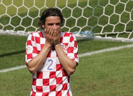 组图:日本VS克罗地亚 塞尔纳罚失点球后的表情