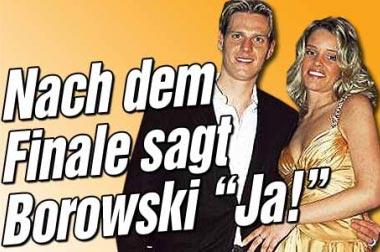 大力神杯+美娇妻 博罗夫斯基7月娶两