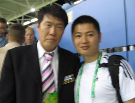 对话车范根父子:坚信韩国会出线 将给世界惊喜