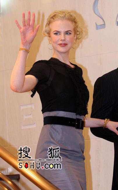 妮可上海派对黑脸耍大牌 传25日悉尼完婚(图)