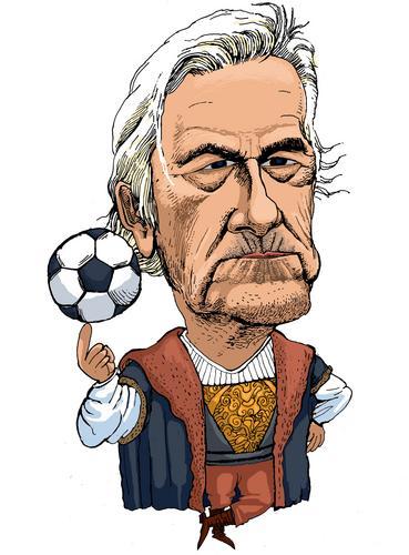 图文:世界杯主教练脸谱之捷克主教练布吕克纳