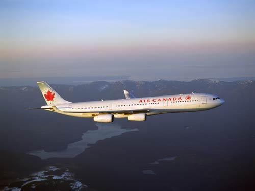 加航开通上海至多伦多直飞航线