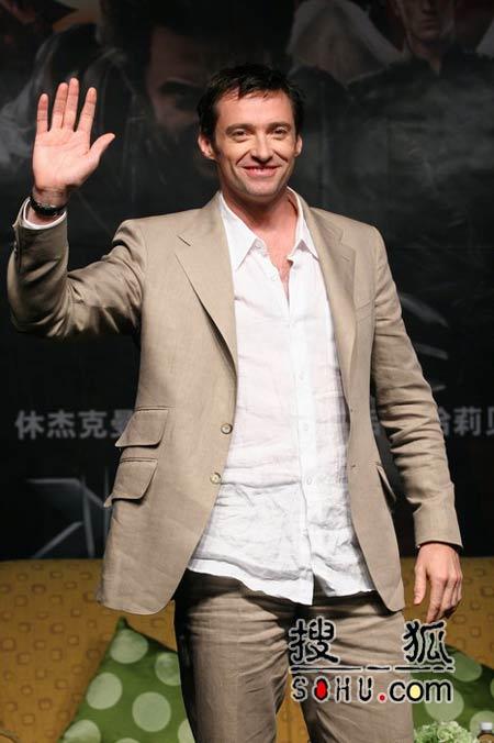 """""""X战警""""空降上海 休杰克曼掀电影节狂潮(图)"""