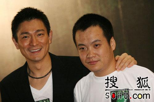 刘德华做电影出品人 《疯狂的石头》上海首发