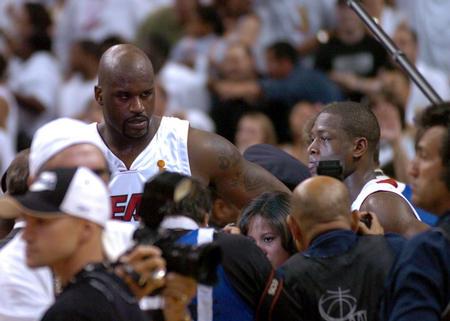 新华社照片,迈阿密,2006年6月19日 (体育)(3)篮球――NBA总...