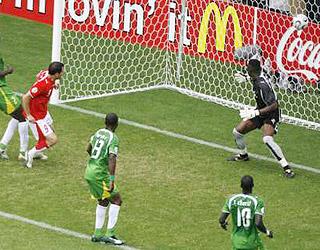 弗雷抽射破门 攻进瑞士首个进球