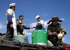 青藏铁路图片幻灯-建设者