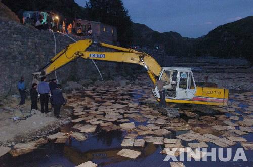 大沙河:煤焦油污染后水质好转却又面临暴雨威胁