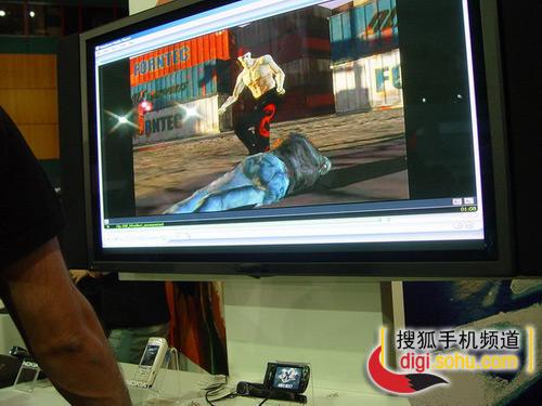 诺基亚精彩展示-N93流畅播放高清晰视频
