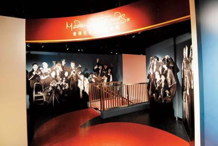 发现香港新景点03:香港杜莎夫人蜡像馆换新装