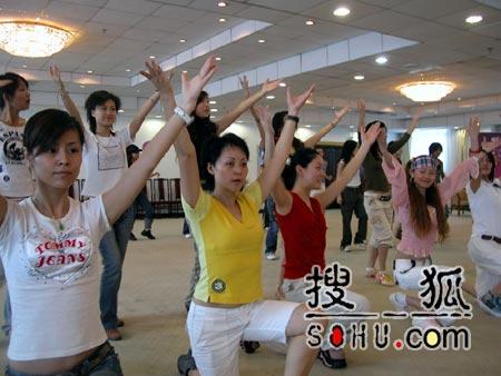 《梦想中国》北京赛区:排练现场